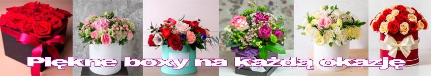 Boxy kwiatowe na każdą okazję